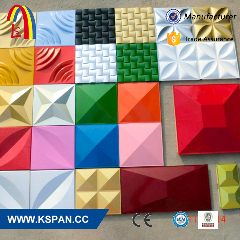 3D wall decorative panels